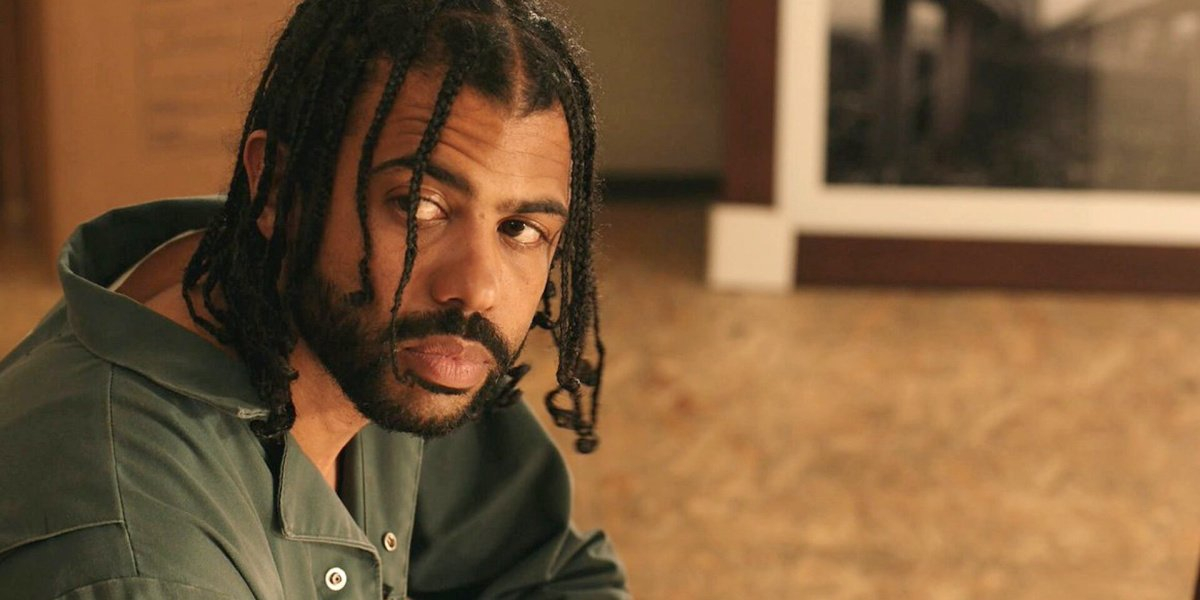 Daveed Diggs as Collin Hoskins in the indie film, Blindspotting.