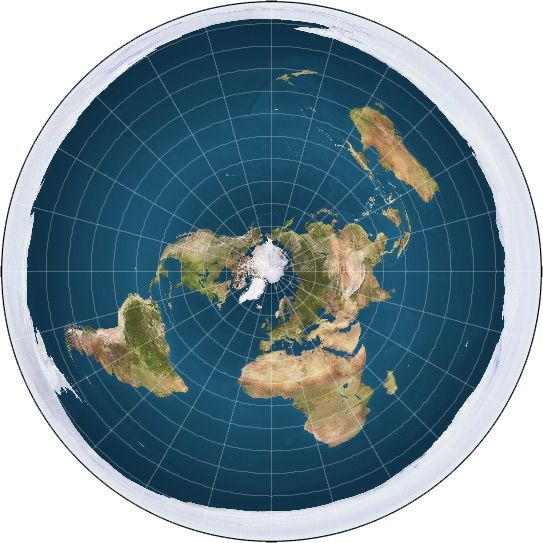 Flat Earth Map Image How Do Flat Earthers Explain the Equinox? We Investigated. | Live