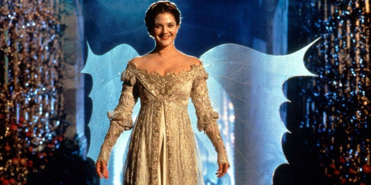 Drew Barrymore in Ever After.