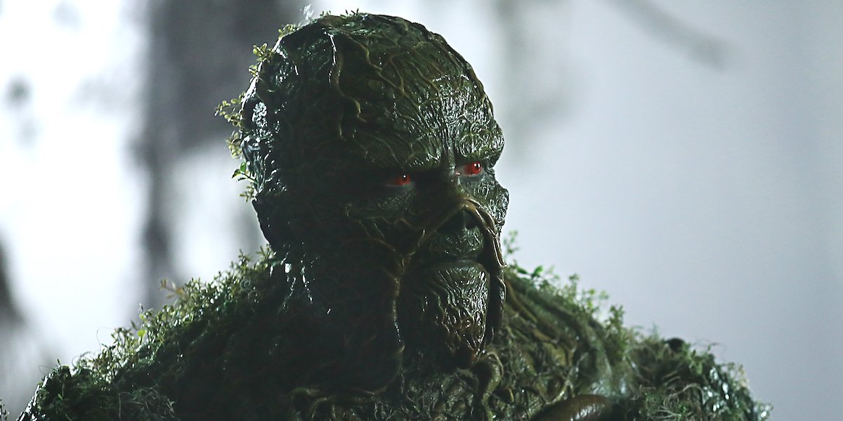 swamp thing in the swamp season 1 dc universe