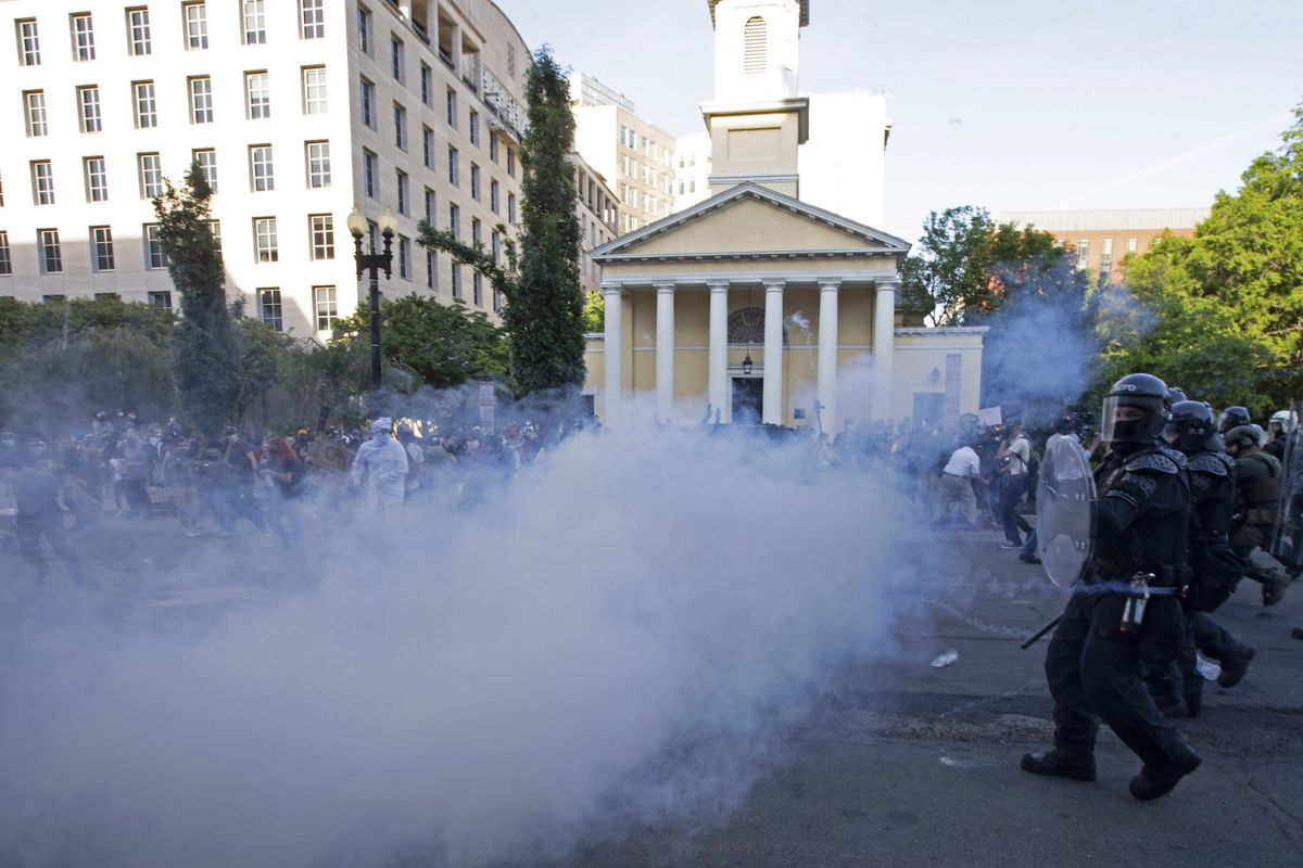 What is tear gas?