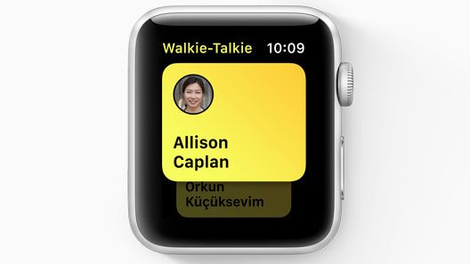 Here's how Walkie-Talkie mode works on your Apple Watch