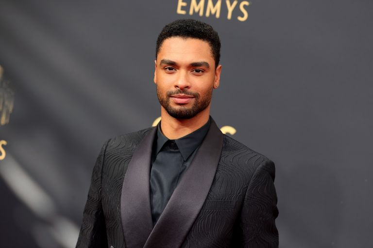 Regé-Jean Page attends the 73rd Primetime Emmy Awards at L.A. LIVE on September 19, 2021 in Los Angeles, California.