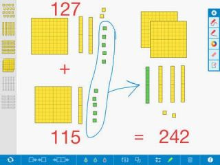 Class Tech Tips: Virtual Base 10 Blocks: Endless Manipulatives and Annotation!