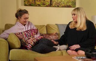 EastEnders Louise Mitchell and Sharon Mitchell