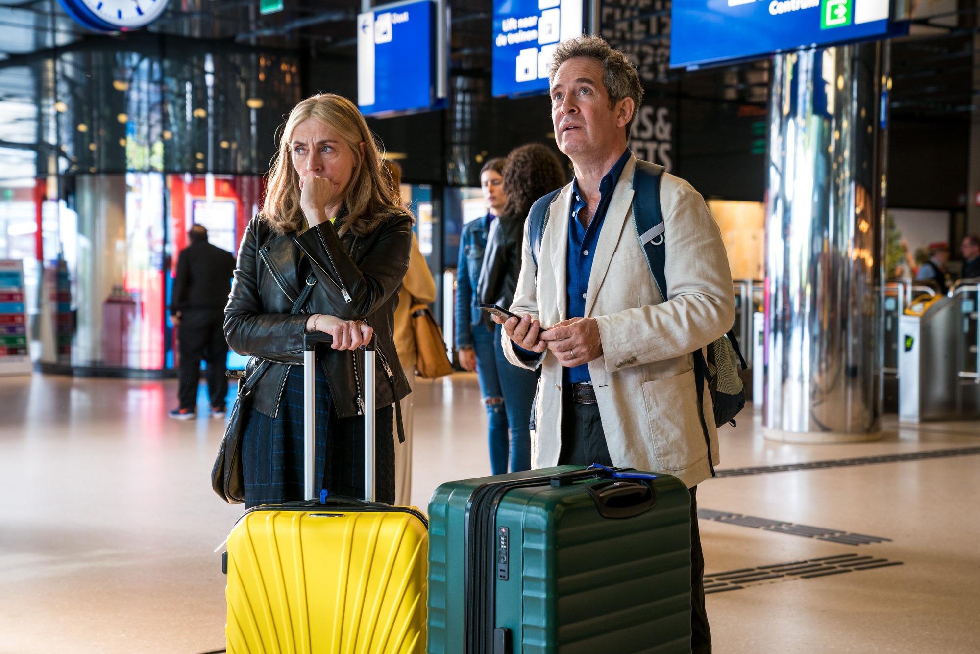 Saskia Reeves y Tom Hollander sobre nosotros BBC1