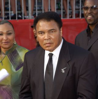 Muhammad Ali at the 10th Annual ESPY Sports Awards in 2002.