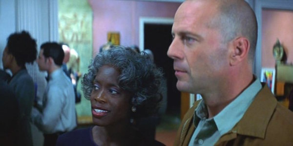 Mrs. Price with David in Unbreakable