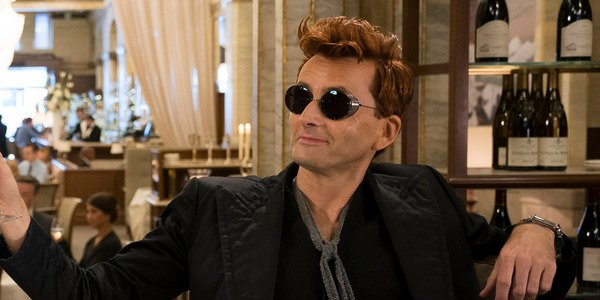 good omens amazon crowley to the world david tennant