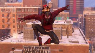 Spider-Man Miles Morales Spider-cat suit, or Bodega Cat suit