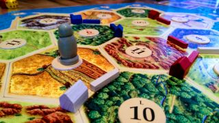 Catan close up