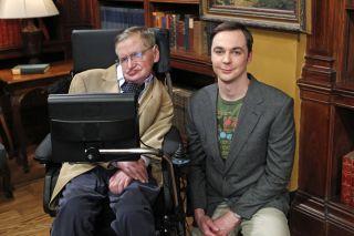 Stephen Hawking & Jim Parsons