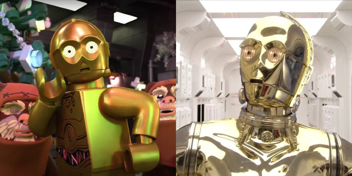 C-3PO in LEGO Star Wars Holiday Special; Anthony Daniels in Star Wars: Episode III - Revenge of the Sith
