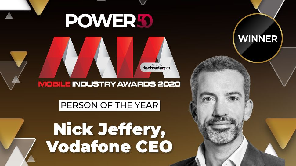 Mobile Industry Awards 2020: Vodafone UK CEO Nick Jeffery is our Person of the Year