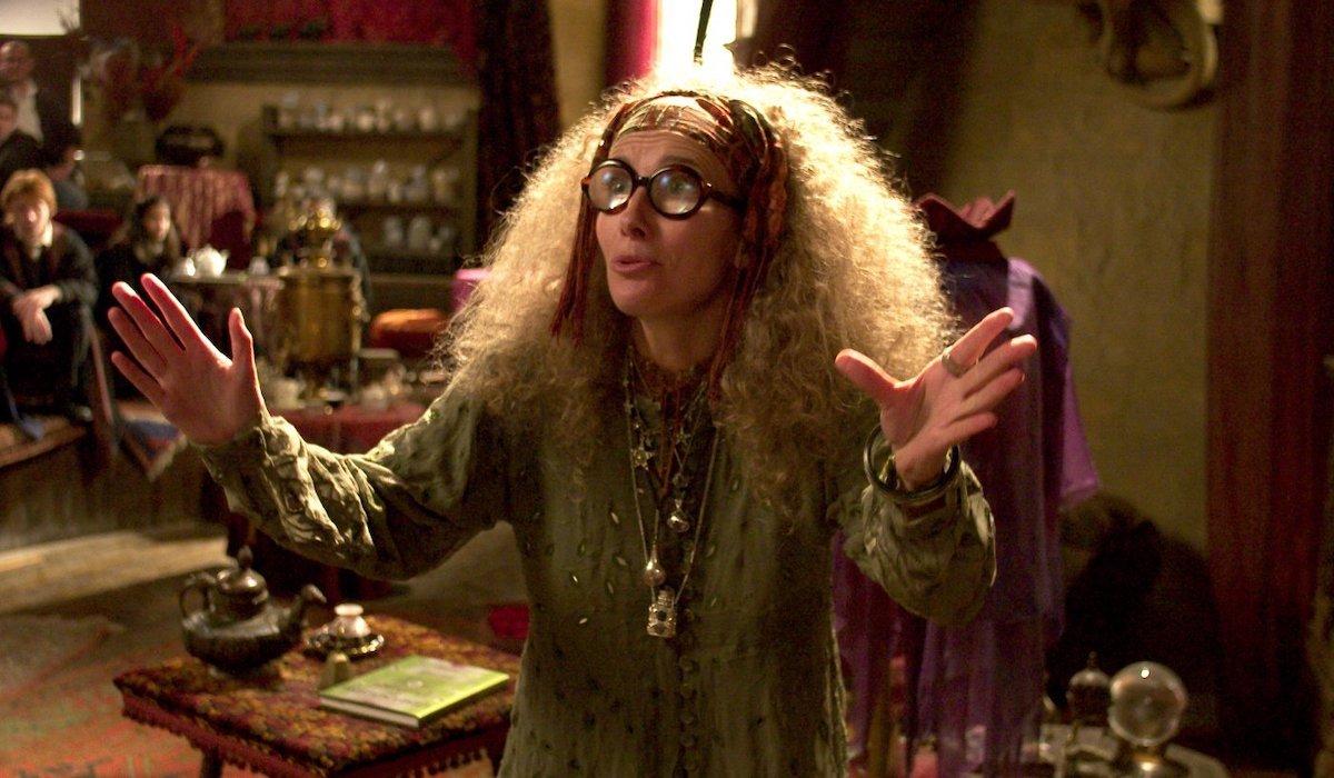 Emma Thompson as Sybill Trelawney in Harry Potter