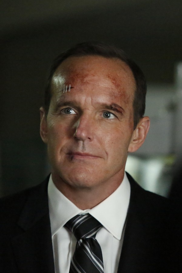 Clark Gregg as Phil Coulson (Channel 4/Marvel)