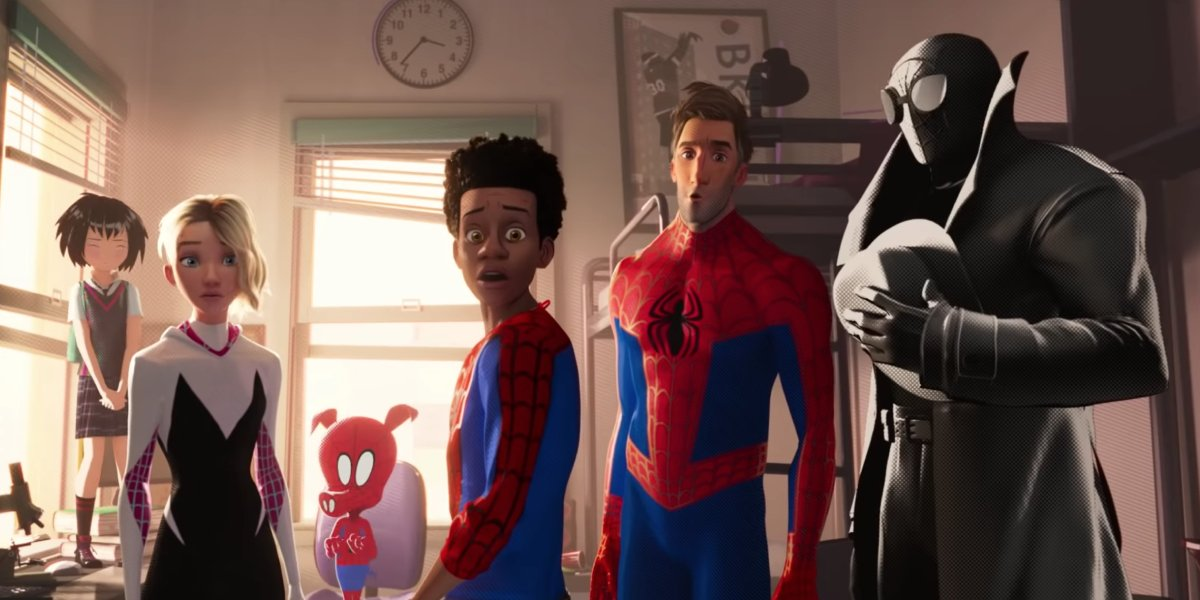 The Spider-People of Spider-Man: Into the Spider-Verse
