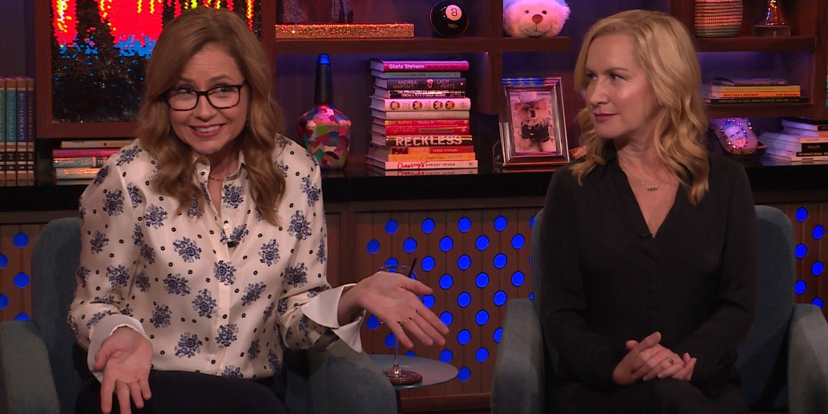 Jenna Fischer, Angela Kinsey - Watch What Happens Live! With Andy Cohen