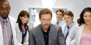 Hugh Laurie in the middle