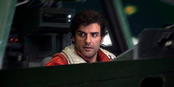 Poe Dameron in The Last Jedi