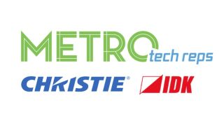Metro Tech Reps Adds Christie, IDK America
