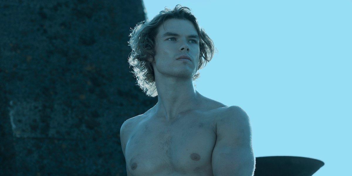 chilling adventures of sabrina sam corlett shirtless