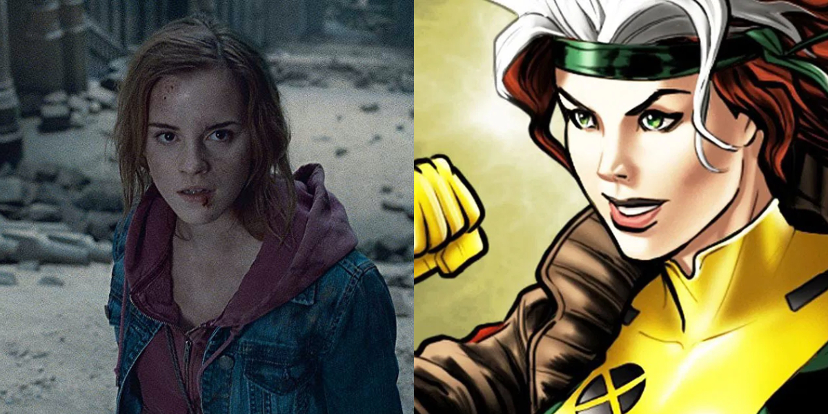 Emma Watson and Rogue