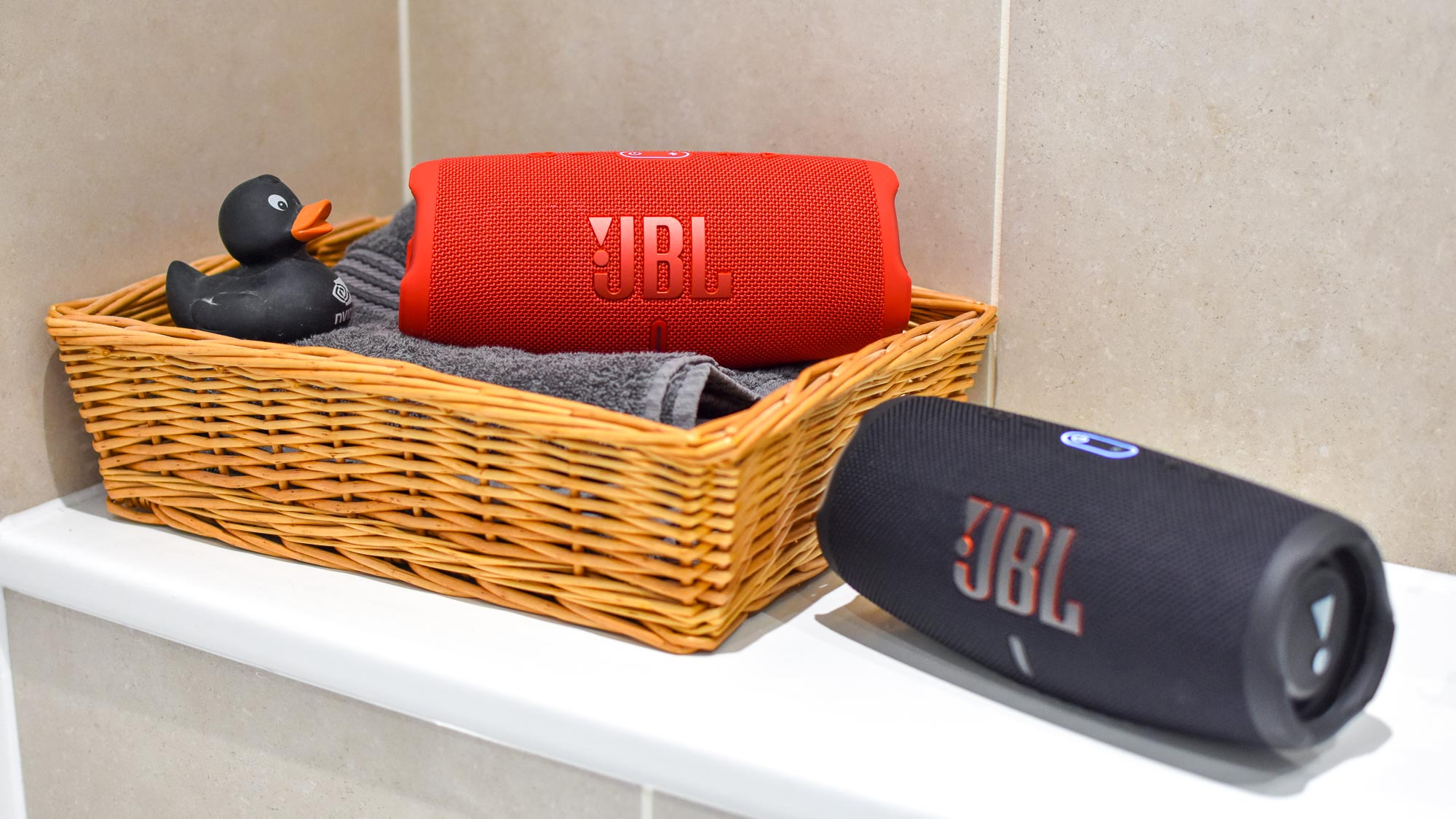 Shower speakers: JBL Charge 5
