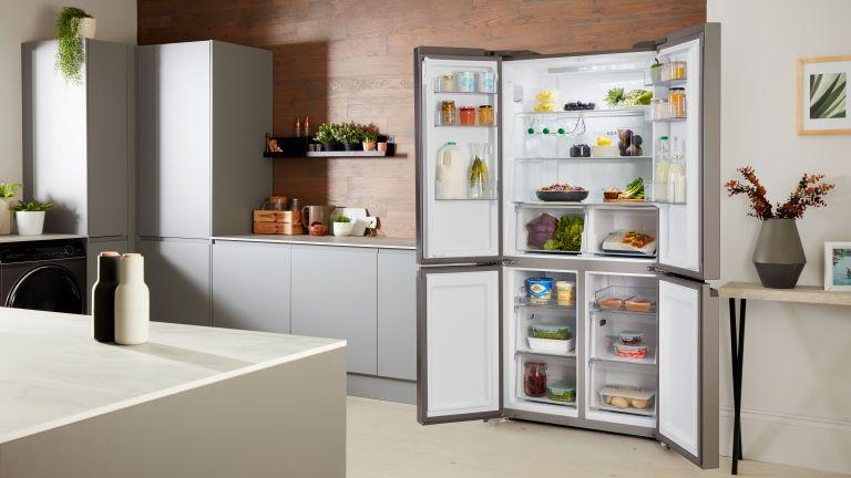 Haier fridge freezer in kitchen