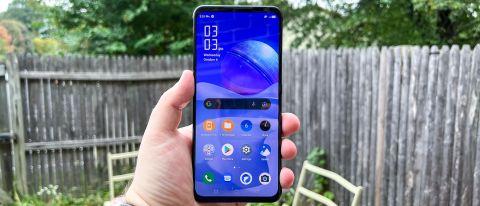 redmagic 6s pro phone in hand