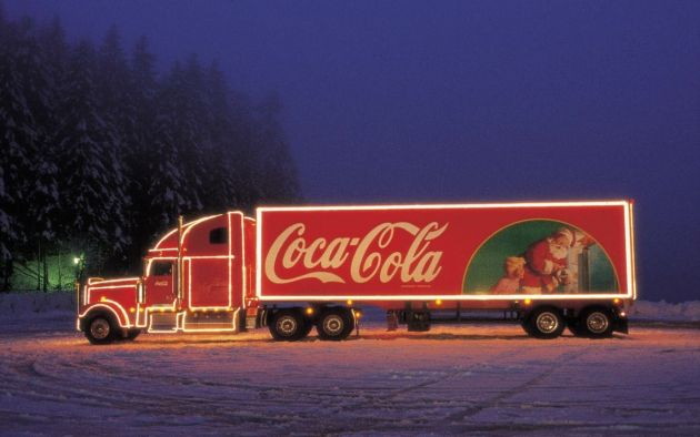 forget ms and their penguins christmas doesnt begin properly until the iconic coca cola trucks start appearing on television the soft drinks brand has - Coca Cola Christmas Commercial