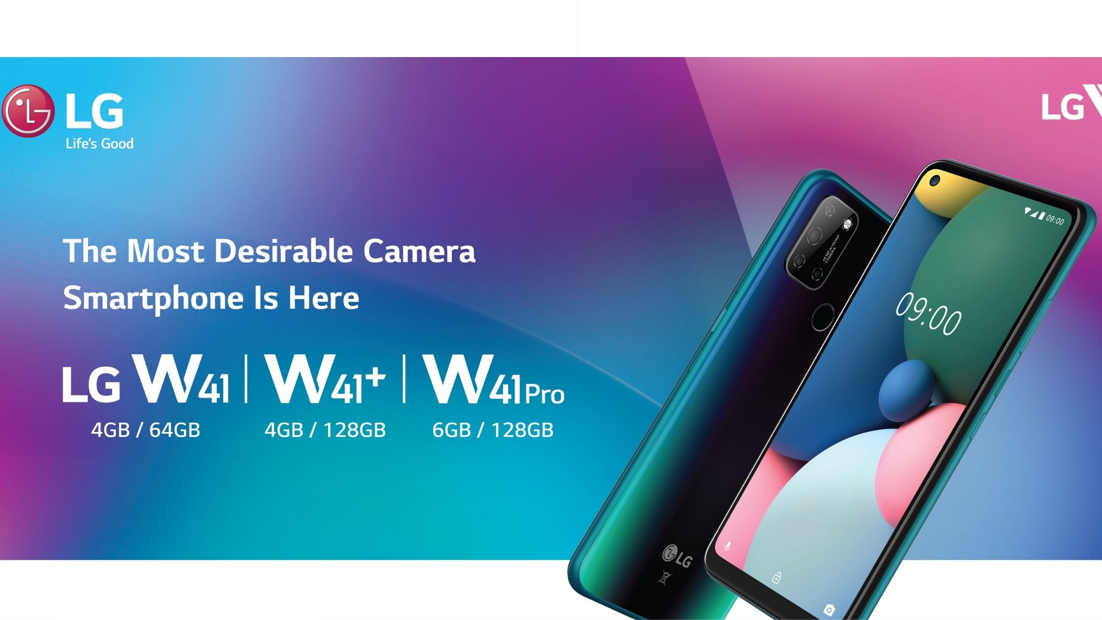 LG W41, W41 Plus, and W41 Pro launched in India with a 5,000mAh battery thumbnail