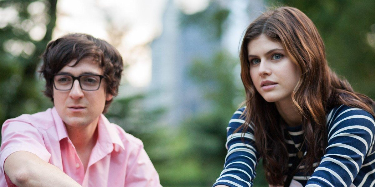 Josh Brener and Alexandra Daddario in Baked in Brooklyn