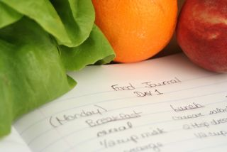 A food diary