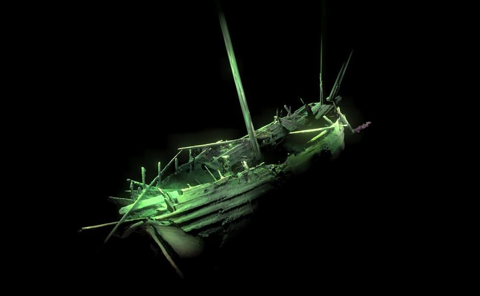 Perfectly Preserved Ancient Shipwreck Found in the Baltic Sea with Guns Ready to Fire