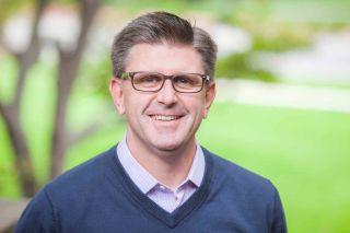 Brian Peterson, new communications head at Newsmax Media.