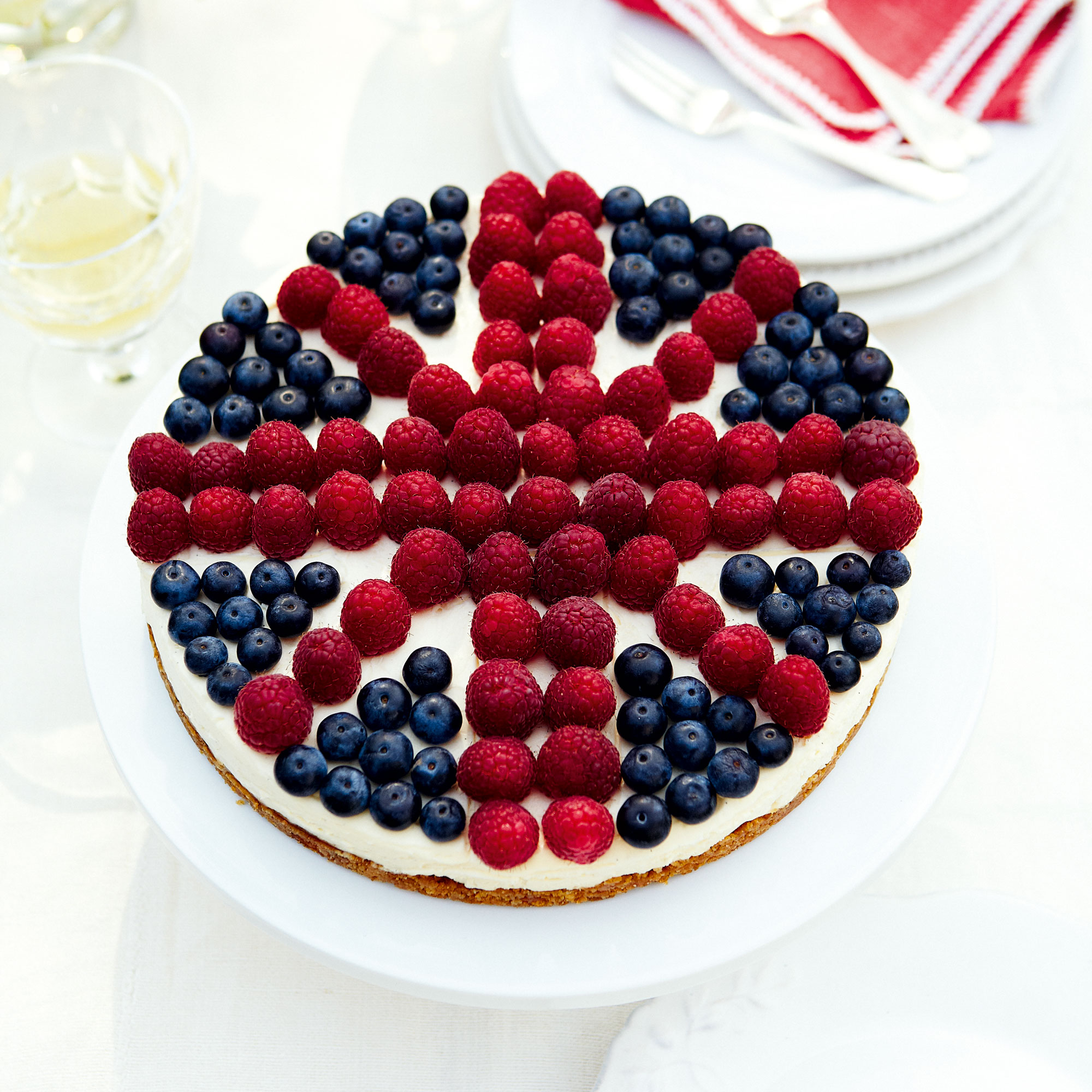 A Very British Cheesecake Dessert Recipes Woman Home