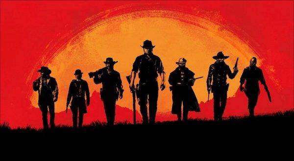 Red Dead Redemption 2 Splash Poster