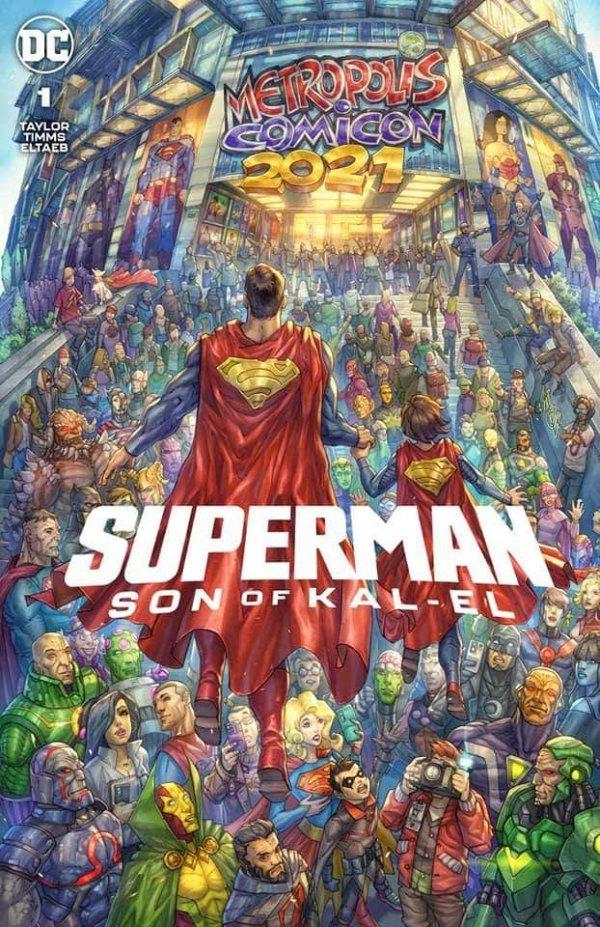 Superman: Son of Kal-El variante # 1