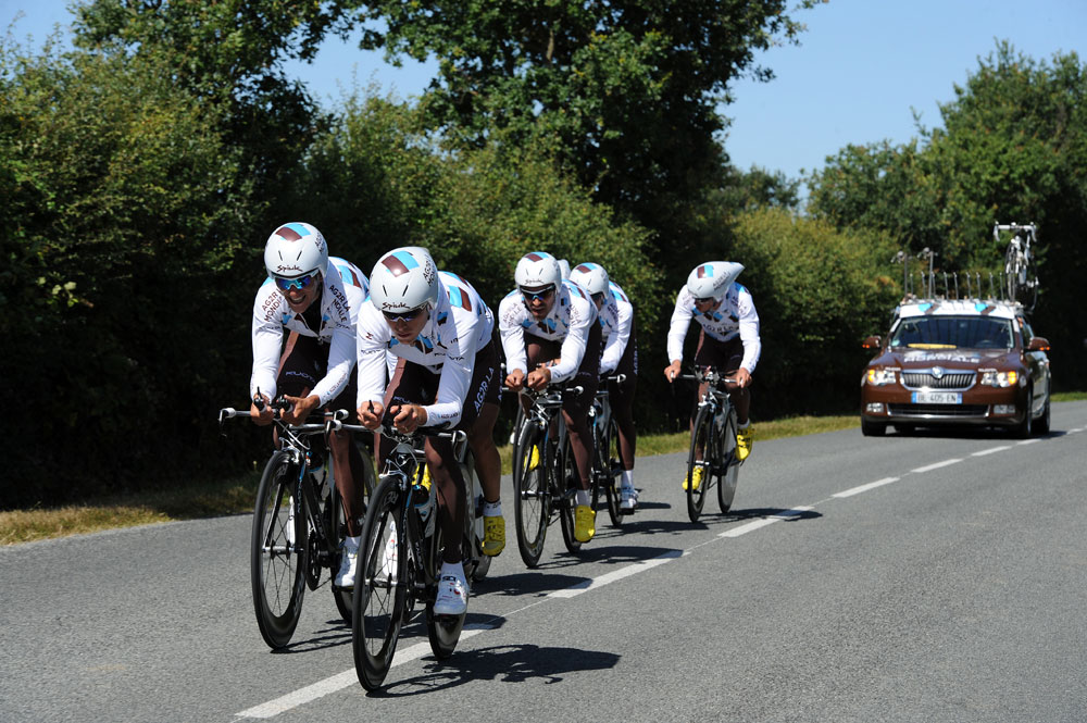 Ag2r, Tour de France 2011, team time trial training