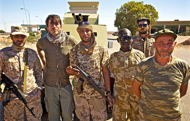 The Mediterranean with Simon Reeve in the Libiyan city of Sirte
