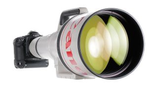 Ultra-rare, $100,000 Canon EF 1200mm lens going up for sale