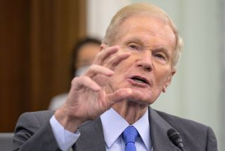 Former Senator Bill Nelson spoke in front of his old committee on April 21, 2021, during his confirmation hearing.