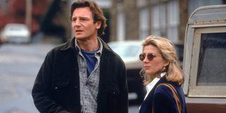 Liam Neeson and Natasha Richardson in Nell.