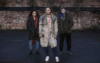 Harley, Peri Lomax and Dean are Homeless in Hollyoaks.