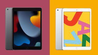 iPad (2020) vs iPad (2021)