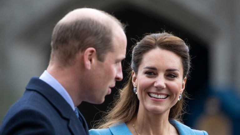 Kate Middleton jokes about buying William a Spiderman suit EDINBURGH, SCOTLAND - MAY 27: Prince William, Duke of Cambridge and Catherine, Duchess of Cambridge attend a Beating of the Retreat at the Palace of Holyroodhouse on May 27, 2021 in Edinburgh, Scotland. (Photo by Jane Barlow-WPA Pool/Getty Images)