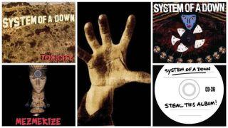 SOAD albums