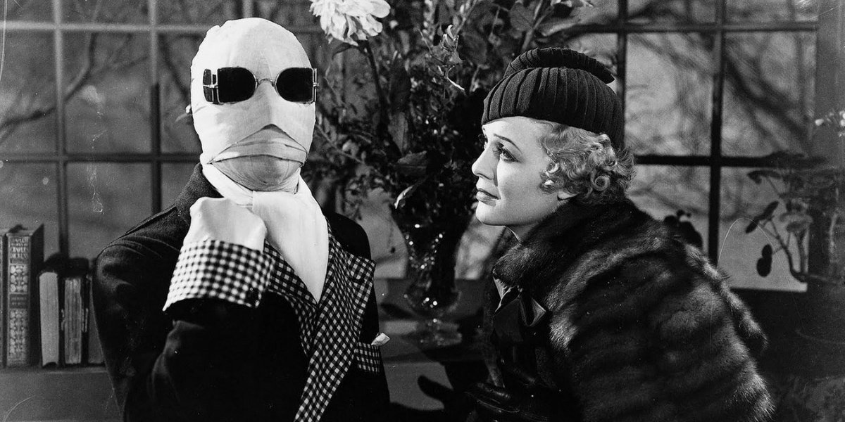 Хэллоуин давно прошел, но вы можете бесплатно смотреть фильмы о человеке-невидимке, Дракуле и другие универсальные фильмы о монстрах