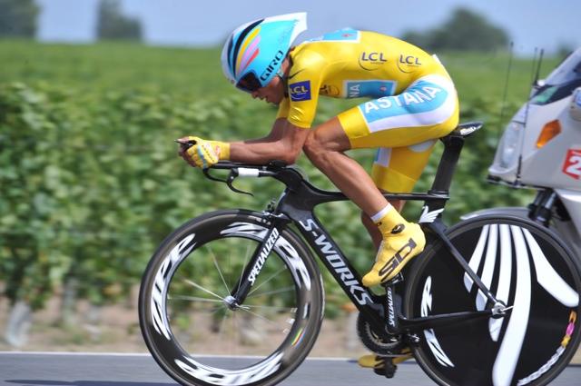 Alberto Contador, Tour de France 2010, stage 19 TT